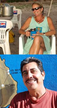 Mary Harter y Ricardo Amador Higuera
